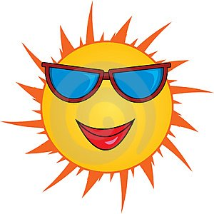 Smiling sun means winning sales productivity