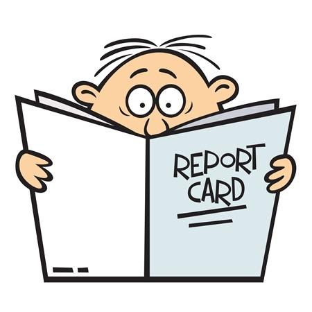 sales report card