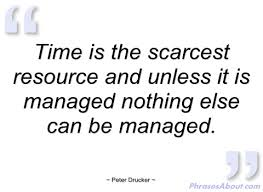 Drucker and sales time mangement