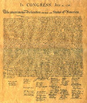 Declaration of Independence-1