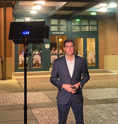 Zach Merchant TV WUSA reporter